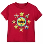 Disney Toddler Boy Shirt - Pixar - Walt Disney World - Red