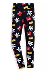 Disney Leggings for Women - Mickey Mouse Body Parts - Black