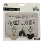 Disney Key Ring Holder - Welcome to All who Come to this Happy Place