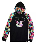 Disney Pullover Hoodie for Men - Mickey Mouse Camouflage
