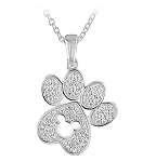 Disney Rebecca Hook Necklace - Mickey Mouse Paw
