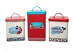 Disney Kitchen Canister Set - Mickey and Minnie Mouse Retro