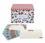 Disney Recipe Cards and Box Set - Mickey and Minnie Mouse Retro