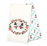 Disney Kitchen Towel Set - Mickey and Minnie Mouse Retro