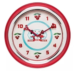 Disney Wall Clock - Mickey and Minnie Mouse Retro