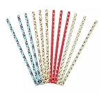 Disney Paper Straw Set - Mickey and Minnie Mouse Retro