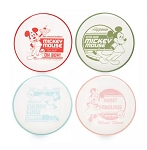 Disney Cake Plate Set - Mickey and Minnie Mouse Retro