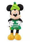 Disney St. Patrick's Day Plush - 2020 Mickey Mouse