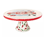 Disney Cake Stand - Minnie Mouse Retro