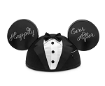 Disney Hat - Ears Hat - Mickey Mouse Groom - Happily Ever After