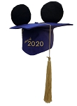 Disney Hat - Mickey Ears Graduation Cap - Class Of 2020 - Mortarboard