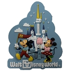 Disney Magnet - Disney Park Life - Mickey and Minnie - Rubber