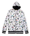 Disney Zip-Up Hoodie for Men - Fantastic 5 - Mickey Mouse & Friends