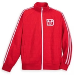 Disney Zip Jacket for Men - Walt Disney World Logo - Red