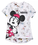 Disney Fashion Top for Girls - Fantastic 5 - Minnie Mouse - White