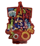Disney Magnet - 2020 Mickey Mouse and Friends - Plastic