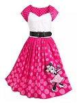 Disney Dress for Women - The Dress Shop - Minnie Mouse Pink Polka Dot
