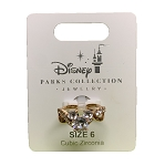 Disney Ring -  Mickey Mouse Cubic Zirconia - Rose Gold
