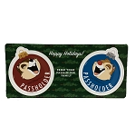 Disney Car Magnet Set - Holiday Chip n Dale - Passholder