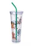 Disney Tumbler with Straw - Starbucks - Disney Parks - 3rd Edition