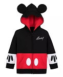 Disney Zip Hoodie for Baby - Mickey Mouse Costume with Ears