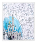 Disney Throw Blanket - Ink & Paint - Walt Disney World