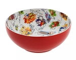 Disney Serving Bowl - Disney Ink & Paint - Ceramic