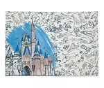 Disney Placemat - Ink & Paint - Reversible - Walt Disney World