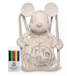 Disney Plush and Tote with Marker Set - Ink & Paint - Mickey Mouse