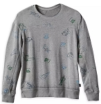Disney Pullover Top for Men - Ink & Paint - Mickey and Friends