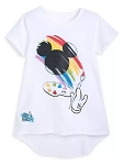 Disney T-Shirt for Girls - Ink & Paint - Mickey Icon