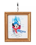 Disney Canvas Ornament - Sorcerer Mickey Mouse - Framed
