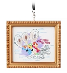 Disney Canvas Ornament - The Three Caballeros - Framed