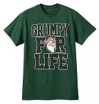 Disney T-Shirt for Adults - Grumpy for Life - Green