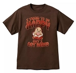 Disney T-Shirt for Adults - I Tried to be Happy - Grumpy