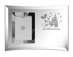 Disney Arribas Photo Frame - Mickey Mouse with Castle - Large