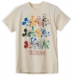 Disney Adult Shirt - Mickey Mouse & Friends - Timeless - Tan