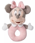 Disney Plush Rattle for Baby - Minnie Mouse - Pink