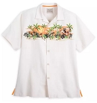 Disney Tommy Bahama Shirt for Men - Mickey Mouse Tropical - Silk