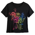 Disney Shirt for Women - The Muppets - Neon