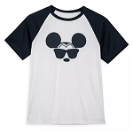 Disney Rash Guard Shirt for Men - Mickey Mouse with Sunglasses