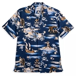 Disney Tommy Bahama Shirt for Men - Pirates of the Caribbean - Silk