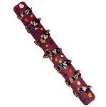Disney Silicone Slap Bracelet - Minnie Mouse with Hearts - Pink