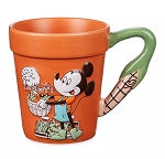 Disney Coffee Mug - Mickey Flower Pot - 2020 Flower & Garden Festival