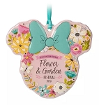 Disney Disc Ornament - Minnie Mouse Icon - 2020 Flower & Garden