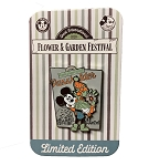 Disney Flower and Garden Pin - 2020 Mickey - Passholder