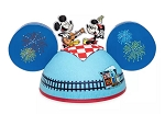 Disney Hat - Ears Hat - Mickey & Minnie's Runaway Railway