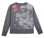 Disney Pullover for Women - Mickey & Minnie's Runaway Railway - Gray