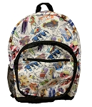 Disney Backpack Bag - Disney Ink & Paint - Full size