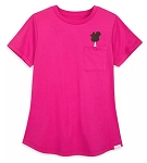 Disney T-Shirt for Women - Mickey Mouse Ice Cream Bar - Pink